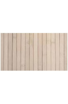 Moso unibamboo latex backed tile 500x500x3mm white