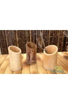 Bamboo Cutlery Holder