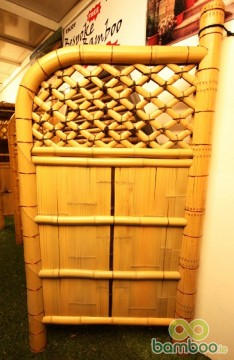 Japanese sleeve bamboo fencing