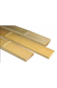 Bamboo slats yellow