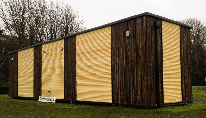 Exterior Cladding Of Shipping Container Home