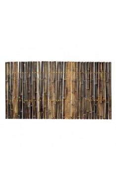 Black Solid Trendline Bamboo Panel 40mm  1.8 mtr x 1 mtr