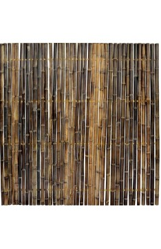 Black Solid Trendline Bamboo Panel 40mm 2 mt x 1.8 mtr