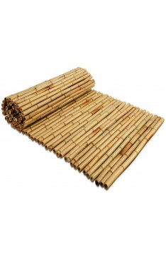 Natural yellow bamboo roll screen 25/28mm 1mtr high x 2.5mtr wide