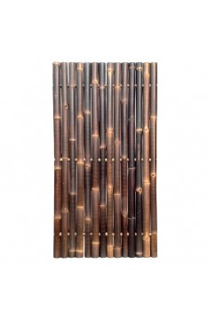 Natural black giant bamboo panel 1.8 mtr high x 900 mm wide