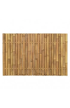 Natural yellow giant bamboo panel 1.2 mtr high x 1.8 mtr wide
