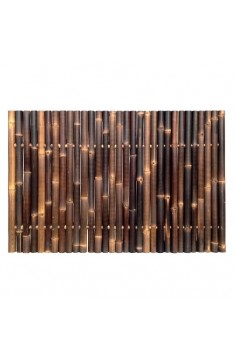 Natural black giant bamboo panel 1.2 mtr high x 1.8 mtr wide