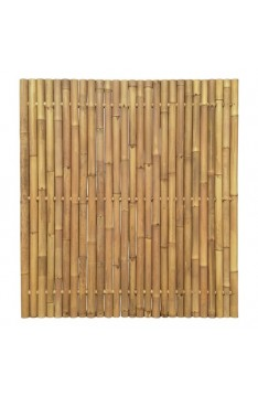 Natural yellow giant bamboo panel 1.8 mtr high x 1.8 mtr wide