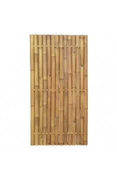 Natural yellow giant bamboo panel 1.8 mtr high x 900 mm wide