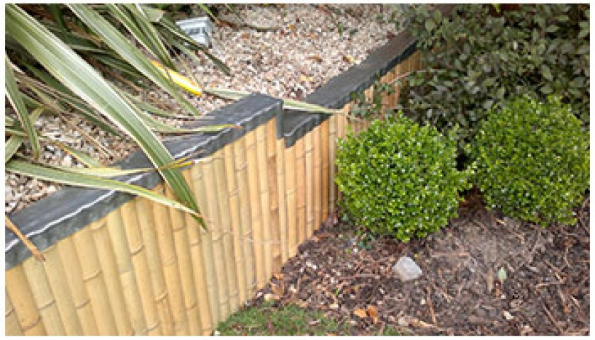 Cladding Of Retaining Wall